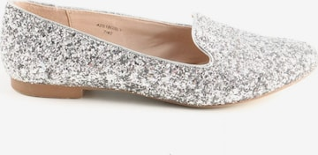 Topshop Flats & Loafers in 40 in Silver