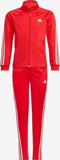 ADIDAS PERFORMANCE Jogginganzug '3-Streifen' in rot / weiß, Produktansicht