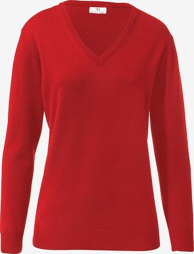 Peter Hahn Pullover 'Pullover aus 100% Schurwolle Pure Tasmanian Wool' in rot, Produktansicht