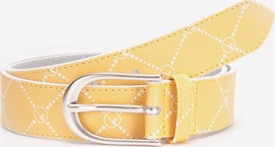 TAMARIS Gürtel 'MAALI' in gelb / weiß, Produktansicht