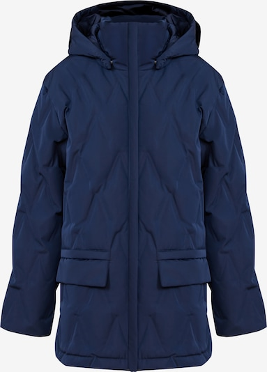 Finn Flare Daunenjacke in dunkelblau, Produktansicht