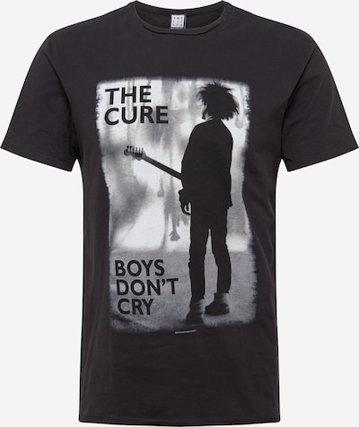 AMPLIFIED Тениска 'THE CURE BOYS DONT CRY' в сиво / тъмносиво, Преглед на продукта