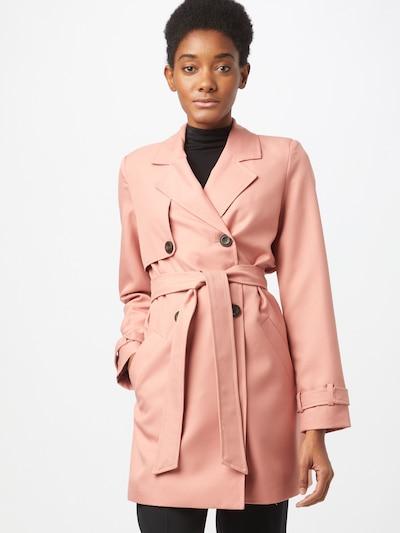 VERO MODA Between-seasons coat in Dusky pink, View model