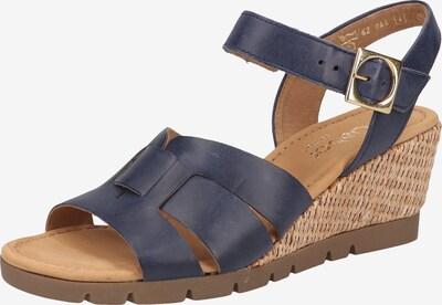 GABOR Sandale in blau, Produktansicht