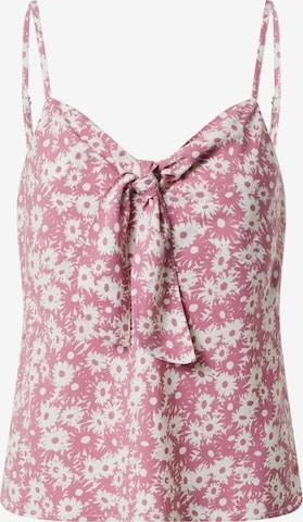 Top 'Eloise' di EDITED in rosa