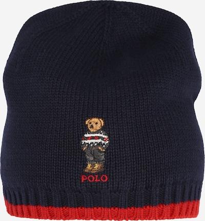 Polo Ralph Lauren Mütze in navy / braun / dunkelgrau / rot / weiß, Produktansicht