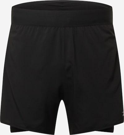 Reebok Sport Sportbroek in de kleur Lichtgrijs / Zwart, Productweergave