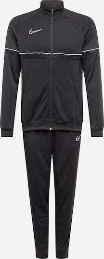 NIKE Sportanzug in schwarz / weiß, Produktansicht