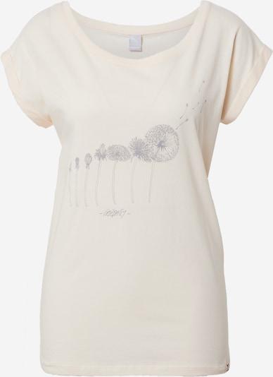Iriedaily T-Shirt 'Evolution' in rauchblau / pastellgelb, Produktansicht