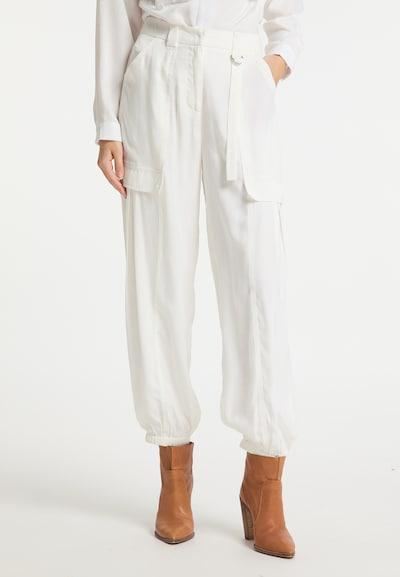 DreiMaster Vintage Hose in weiß, Modelansicht