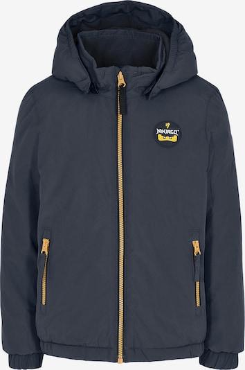 LEGO WEAR Jacke in dunkelblau / gelb, Produktansicht