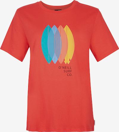 O'NEILL T-shirt 'Surfboard' en bleu clair / jaune d'or / jade / rosé / rouge rouille, Vue avec produit