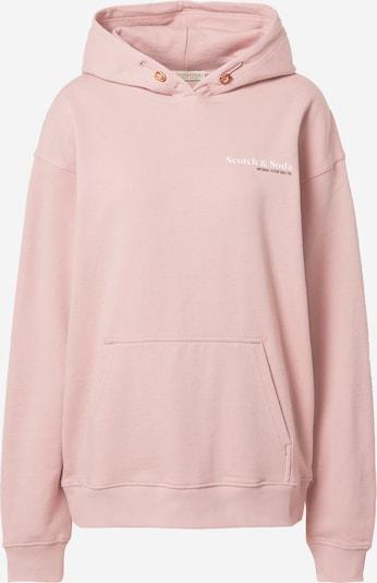 SCOTCH & SODA Sweat-shirt en rose ancienne / noir / blanc, Vue avec produit