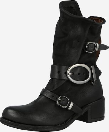 A.S.98 Boots 'Opea' i svart