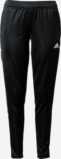 ADIDAS PERFORMANCE Sportske hlače u siva / crna / bijela, Pregled proizvoda