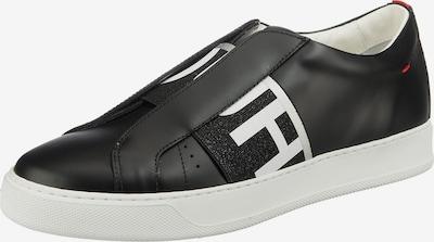 HUGO Slip On 'Futurism' in schwarz / weiß, Produktansicht