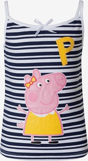 Peppa Pig Top in blau / mischfarben / weiß, Produktansicht