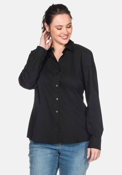 SHEEGO Bluse in schwarz, Modelansicht