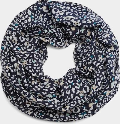 s.Oliver Loopschal mit Leo-Muster in dunkelblau, Produktansicht
