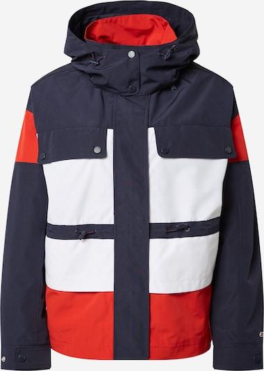 Tommy Jeans Parka in navy / rot / weiß, Produktansicht