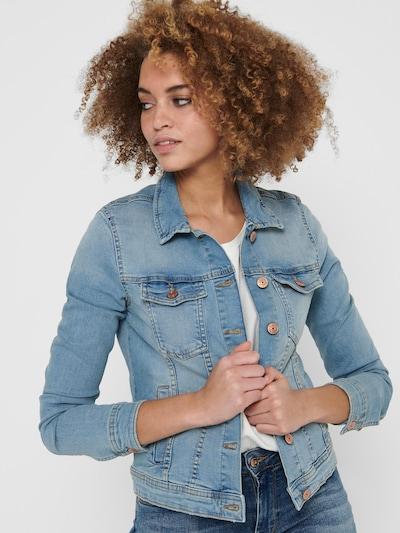 ONLY Jacke in blue denim: Frontalansicht