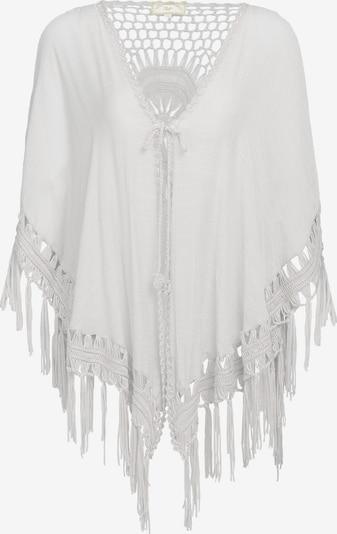 MYMO Poncho in weiß, Produktansicht