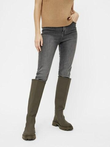 PIECES Jeans 'PCLILI' in Grijs