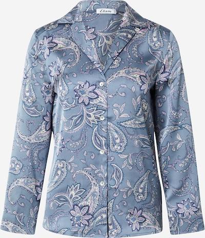 ETAM Pidžamas krekls 'DALINA' zils / dūmu zils / lillā / balts, Preces skats