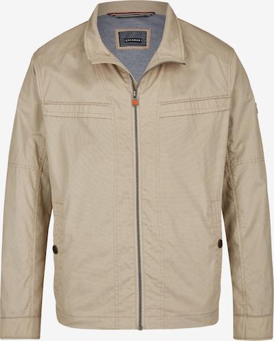 CALAMAR Cotton Kurzjacke mit Schubtaschen in beige, Produktansicht