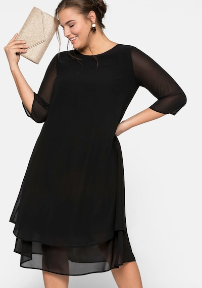 Rochie SHEEGO pe negru, Vizualizare model