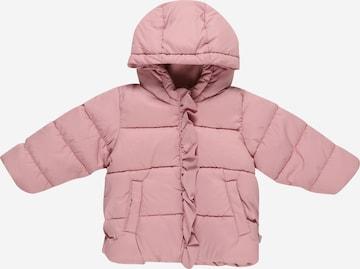 UNITED COLORS OF BENETTON Between-season jacket in Pink