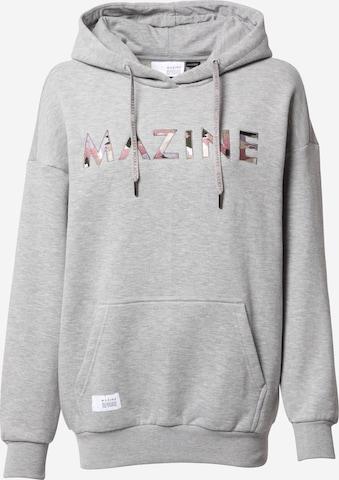 mazine Sweatshirt 'Harper' i grå