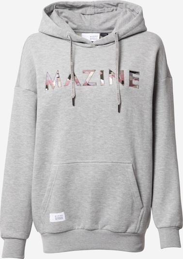 mazine Sweatshirt 'Harper' in hellgrau / mischfarben, Produktansicht