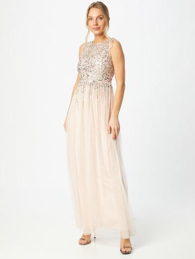 Lipsy Kleid in puder / silber, Modelansicht