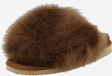 SHEPHERD Slippers 'TESSAN' in Brown