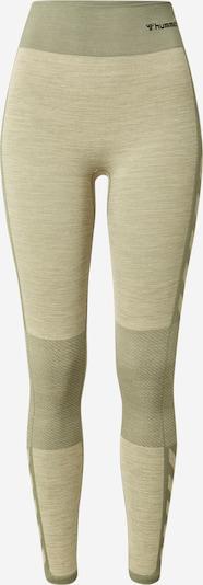 Hummel Sporthose in ecru / khaki, Produktansicht