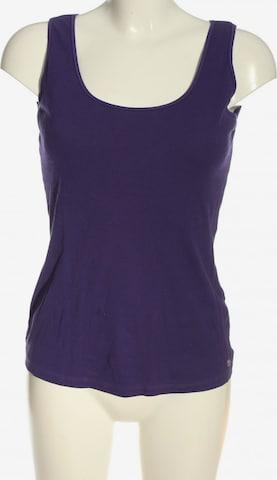 HESSNATUR Top & Shirt in S in Purple