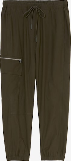 Marc O'Polo Pure Cargohose in dunkelgrün, Produktansicht