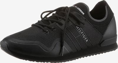 fekete / fehér TOMMY HILFIGER Rövid szárú edzőcipők, Termék nézet