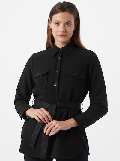 Palton de primăvară-toamnă 'Halola' OPUS pe negru: Privire frontală