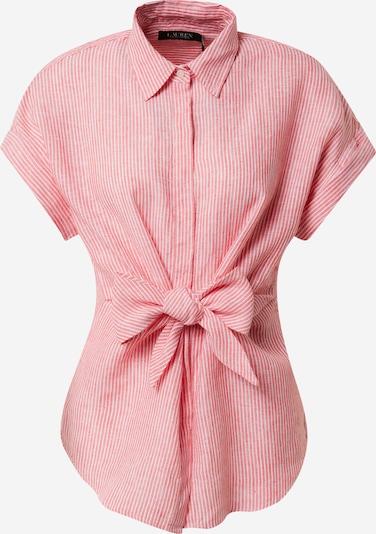 Lauren Ralph Lauren Μπλούζα 'VEANNA' σε κόκκινο παστέλ / λευκό, Άποψη προϊόντος