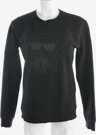 Karl Lagerfeld Sweatshirt / Sweatjacke in S in schwarz, Produktansicht
