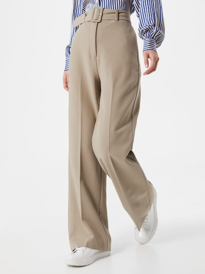 2NDDAY Trousers with creases 'Leonardo' in Beige, View model