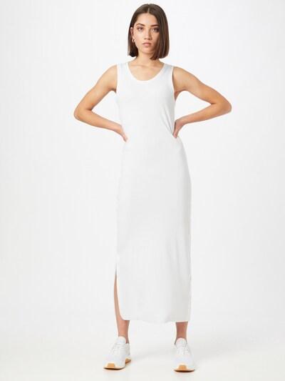 Rochie Calvin Klein pe alb, Vizualizare model
