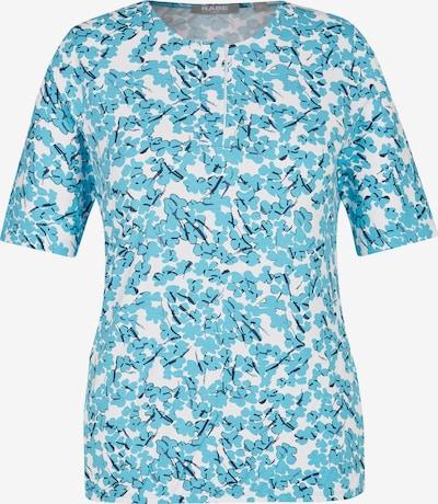 Rabe T-Shirt in blau / schwarz / weiß, Produktansicht