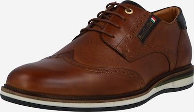 PANTOFOLA D'ORO Chaussure à lacets en marron, Vue avec produit