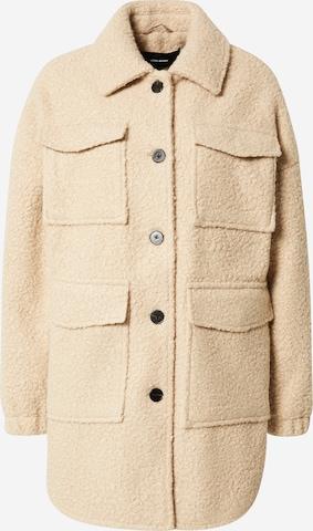 VERO MODA Between-Season Jacket 'Twirlanna' in Beige