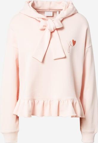 Rich & Royal Sweatshirt in Pink