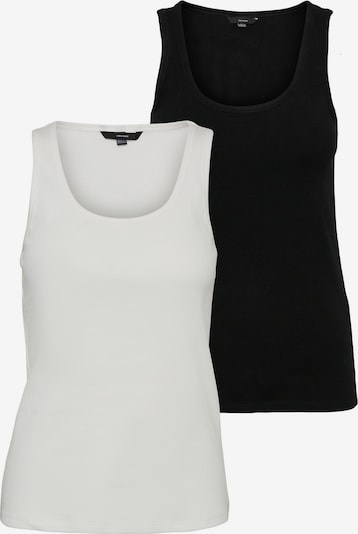 Vero Moda Tall Haut 'Jessica' en noir / blanc, Vue avec produit