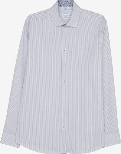 SEIDENSTICKER Zakelijk overhemd in de kleur Navy / Wit, Productweergave
